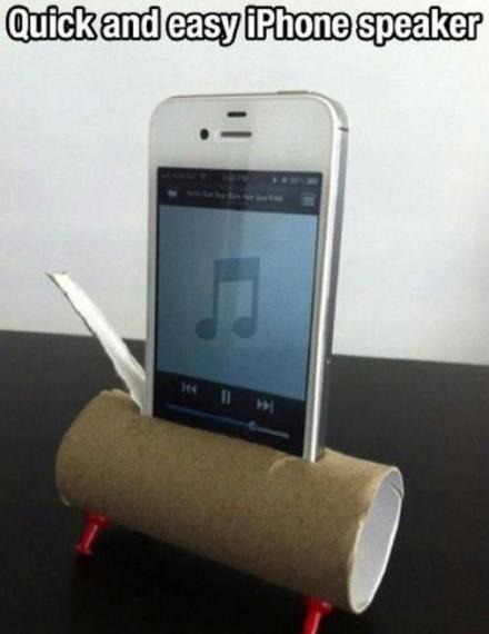 portable and disposable speaker